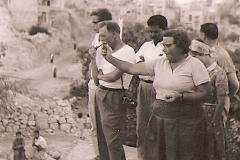 29.-Jerusalem-63-D.-Tushingham-K.-Kenyon-on-Mt.-Ophel__Armenian-Garden_-phto-P.-Dorrell