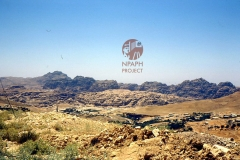 cSearightpPetra32-outside-Petra-Wadi-Musa-town-on-right-1980