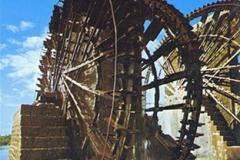 cSearightpHama2-Hama-water-wheels-the-Noria-Syria-1976-postcard-2