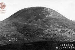 cSearightpPostcard2-Nazareth_Mt.Tabor-1931-postcard