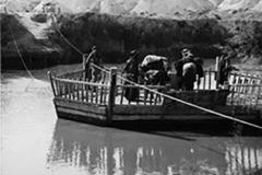 cSearightpPostcard7-Ferry-on-Jordan-River-1936-American-Colony-postcard