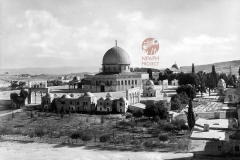 13.-Jerusalem-1931-Mosque-of-Omar-postcard