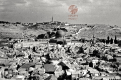 4.-Jerusalem-and-Mount-of-Olives-1931