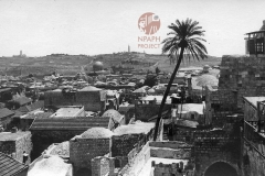 4aJerusalem-1931-from-roof-of-American-Colony-postcard