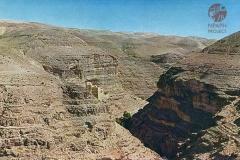 cSearightpPostcard5-Wadi-el-Kelt-with-Convent-of-St.-George-postcard-1931