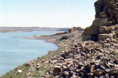 Halabiye-4-and-the-Euphrates-river-1973
