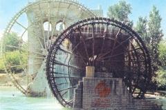 cSearightpHama3-Hama-water-wheels-the-Noria-Syria-1976-postcard-1