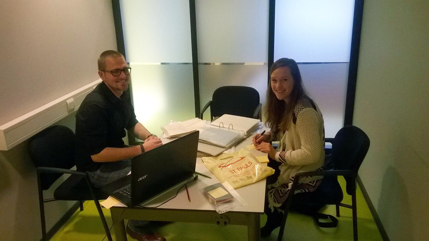Eerst inventarisatie november 2016, Marlijn en Thom